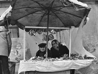 Handel uliczny,Czestochowa 1982r.